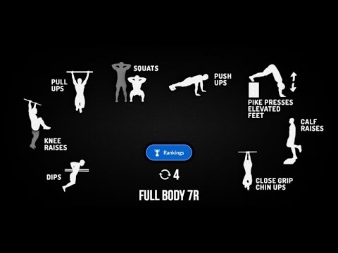 Madbarz Routine Full Body 7R Deutsch Video Bodyweight Fitness Workout