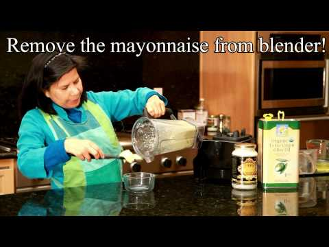 Recipes for coconut oil: Coconut Mayonnaise Recipe with Coconut Oil and Olive Oil - no trans-fats!