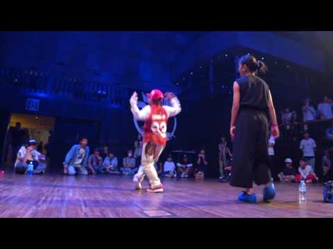 優弥(FORCE ELEMENTS) vs MARINA(THE LOCKSTeR GAMES) BEST8 KIDS / DANCE@LIVE 2017 CHARISMAX KANTO