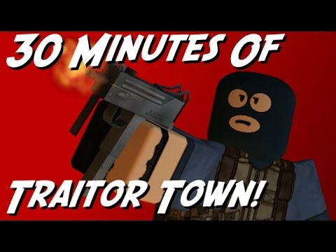 ROBLOX Traitor Town | 30 Minutes of Gameplay (TRAITOR)
