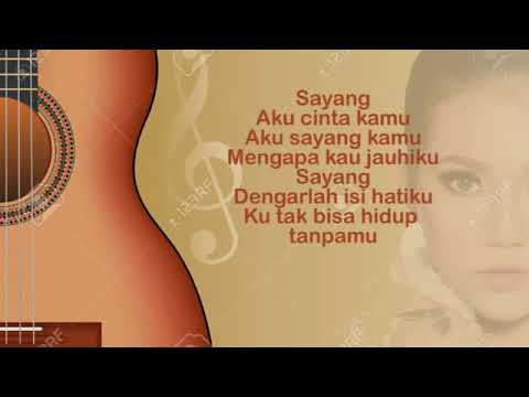 Via Vallen - Sayang versi Indonesia (Lyrics)