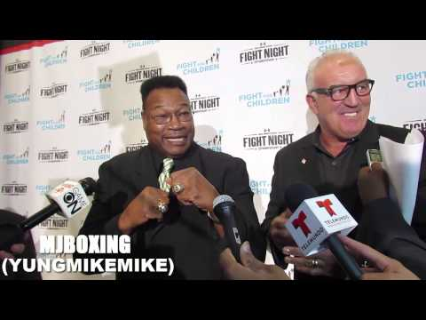 LARRY HOLMES & GERRY COONEY THOUGHTS ON BERMAINE STERVNE AND DEONTE WILDER