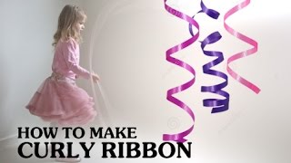 Do you wanna know how to curl a Korker Ribbon. This demonstration i...