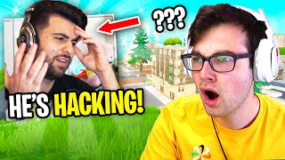 SypherPK called me a HACKER in his Tilted Towers Fortnite Tournament... (ft. Nickmercs, Nick Eh 30)