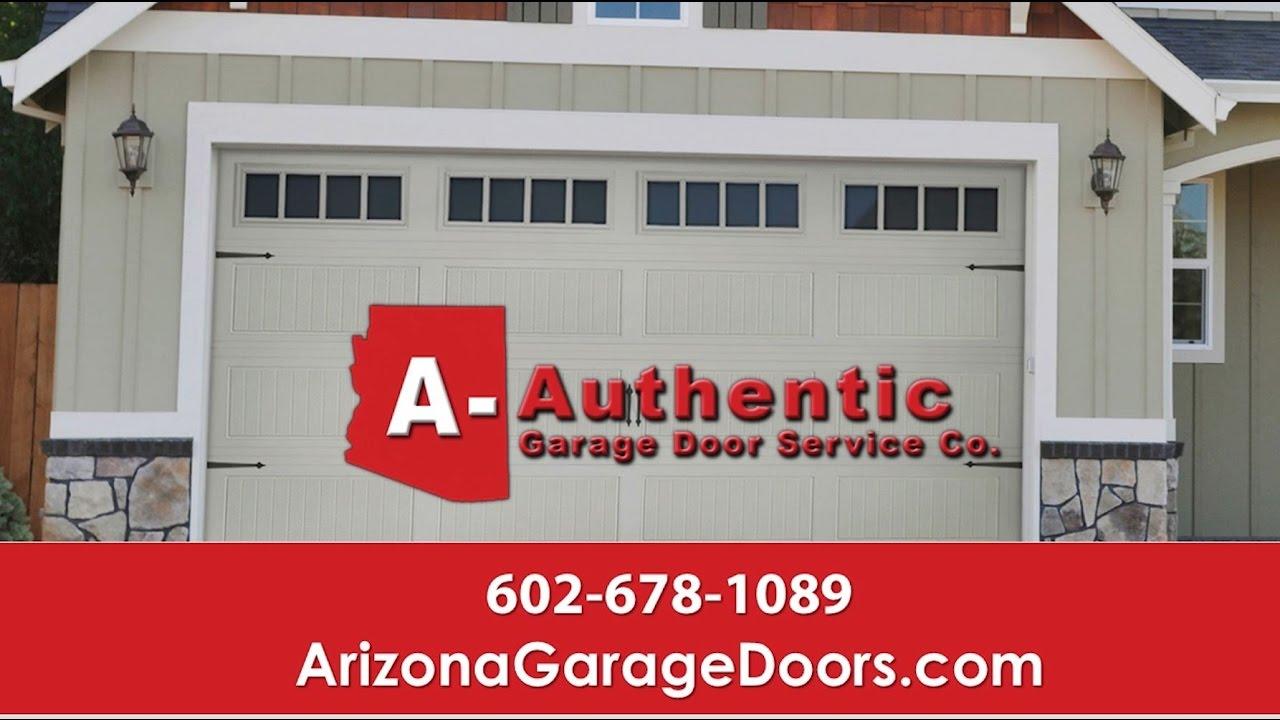 A-Authentic Garage Door Service Co. | Phoenix AZ Garage ...