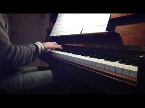 Michael Jackson - Stranger in Moscow piano
