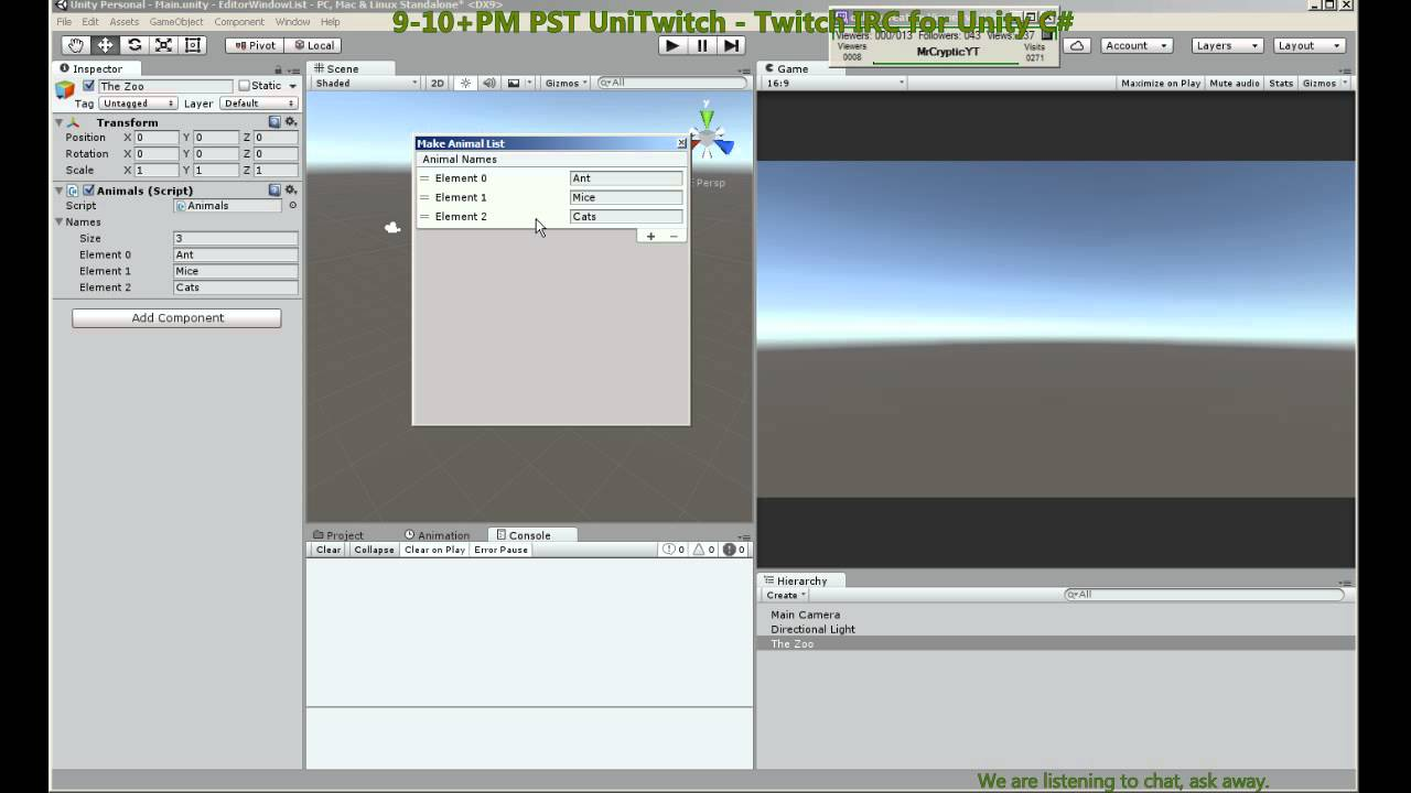 Editor Window with ReorderableList - Unity Tutorial