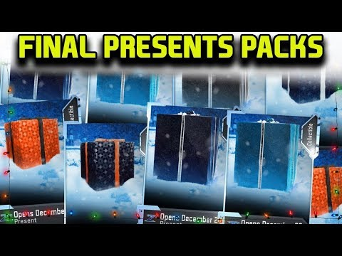 FINAL PRESENTS/GIFTS PACK OPENING *GHOSTS UPON GHOSTS* | MADDEN 19 ULTIMATE TEAM