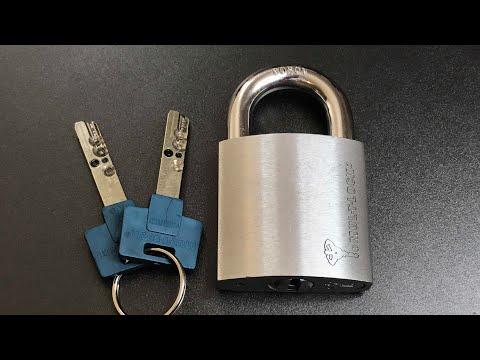 Взлом отмычками Mul-T-Lock G55  [554] Mul-T-Lock G55