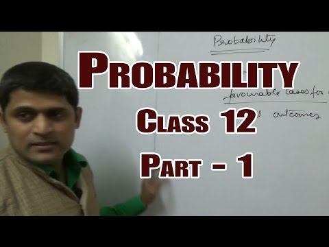 Class 12 probability part01