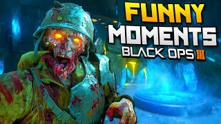 Black Ops 3 Zombies Chronicles: Origins Easter Egg! (BO3 Funny Moments)