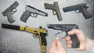 ТОП-5 лучших стволов мира. От пистолета Сердюкова до Glock 17