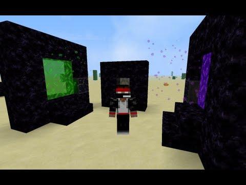 MineCraft {1.5.2} [Обзор Модов] №63 - Enhanced Portals
