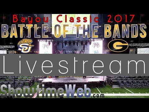 Full Battle LIVESTREAM - 2017 Bayou Classic Battle of the Bands