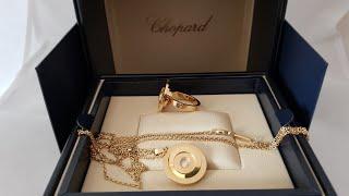 Обзор ювелирных украшений Chopard Happy Spirit кольцо и подвеска