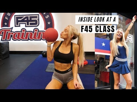 What to expect at a F45 class