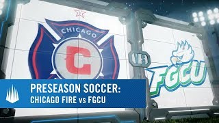 Chicago Fire vs Florida Gulf Coast University presented by @visitbradenton thumbnail