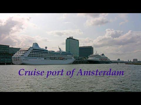 Cruise port of Amsterdam