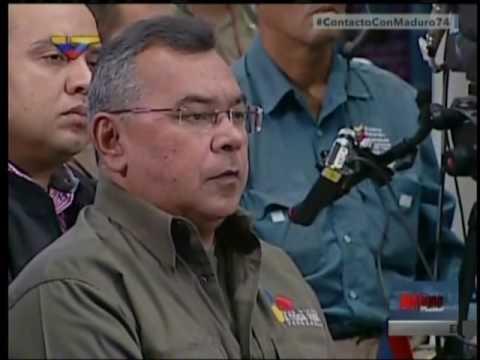 Maduro: Carlos Ocariz compra malandros para amedrentar al pueblo. 11/12/2016