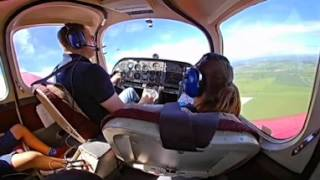 Flying in a Beagle B121 Series 2 Pup - 360 3