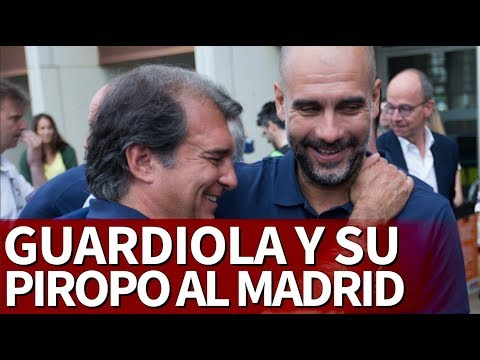 Los piropos de Pep Guardiola al Real Madrid
