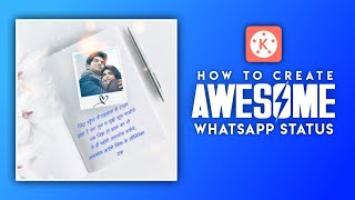 How To Make Awesome  Status In Kinemaster For Instagram And Whatsapp | Abhi Creation