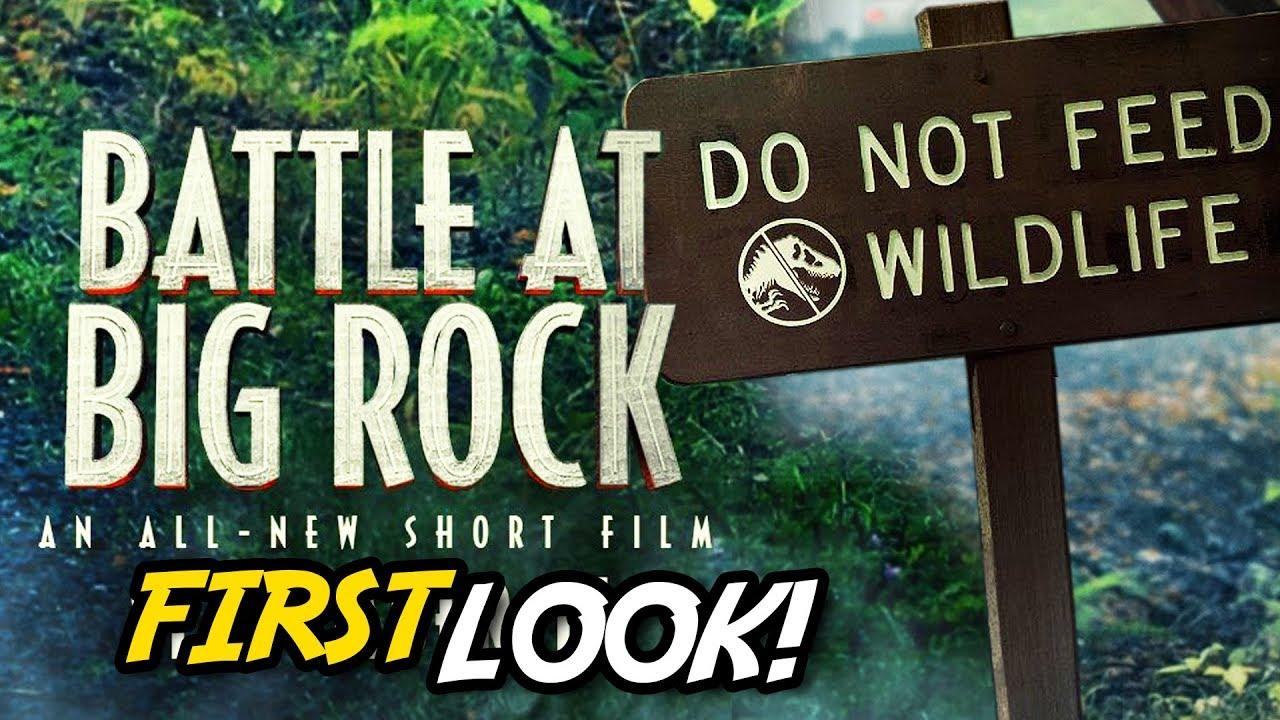FIRST LOOK at 'Battle At Big Rock' | Jurassic World Short Film