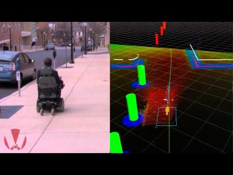 Autonomous Robotic Smart Wheelchair Navigation in an Urban Environment
