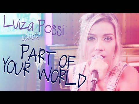 Luiza Possi - Part Of Your World  A Pequena Sereia   LAB LP