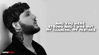James Arthur  Impossible ( Lyrics Video )