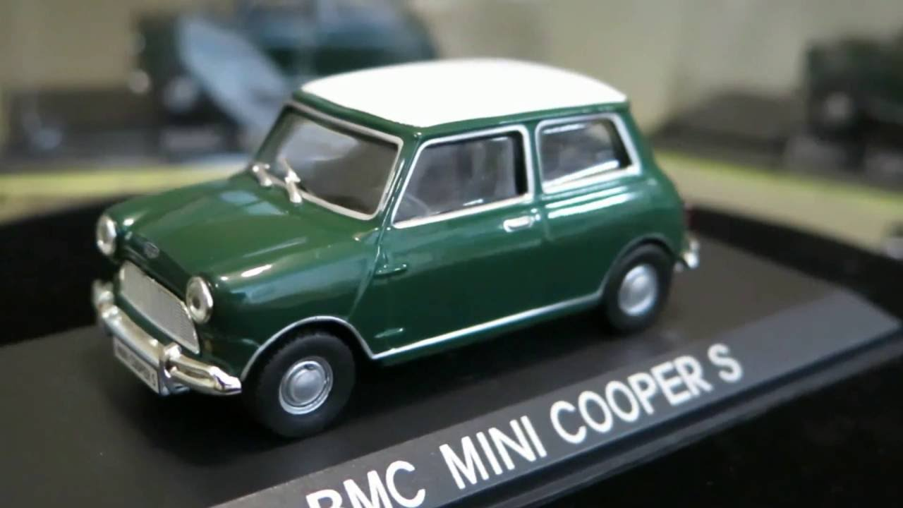 BMC Mini Cooper S 1/43 - YouTube