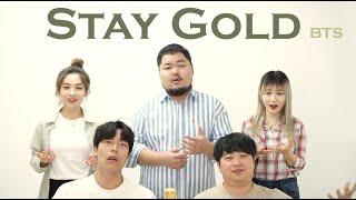 BTS Stay Gold Acapella Cover