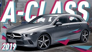 Mercedes-Benz A-Class 2018/Бэби Бэнц/Мерседес-Бенц А-Класса/Большой Тест Драйв