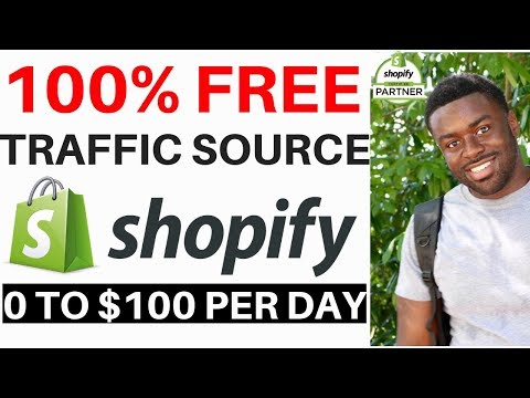 How To Get FREE TRAFFIC to Your Shopify Store in 2019 thumbnail