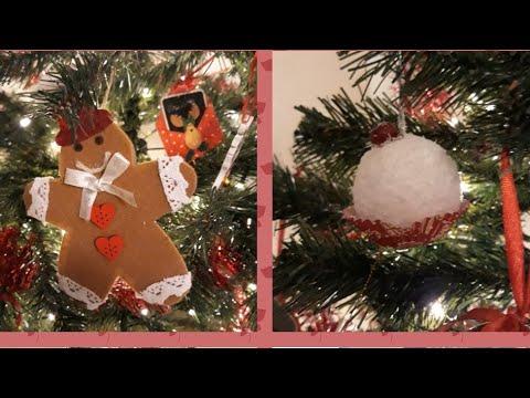 Decorazioni Fai Da Te Per Albero Di Natale : Decorazioni per l albero di natale fai da te facilissime senza