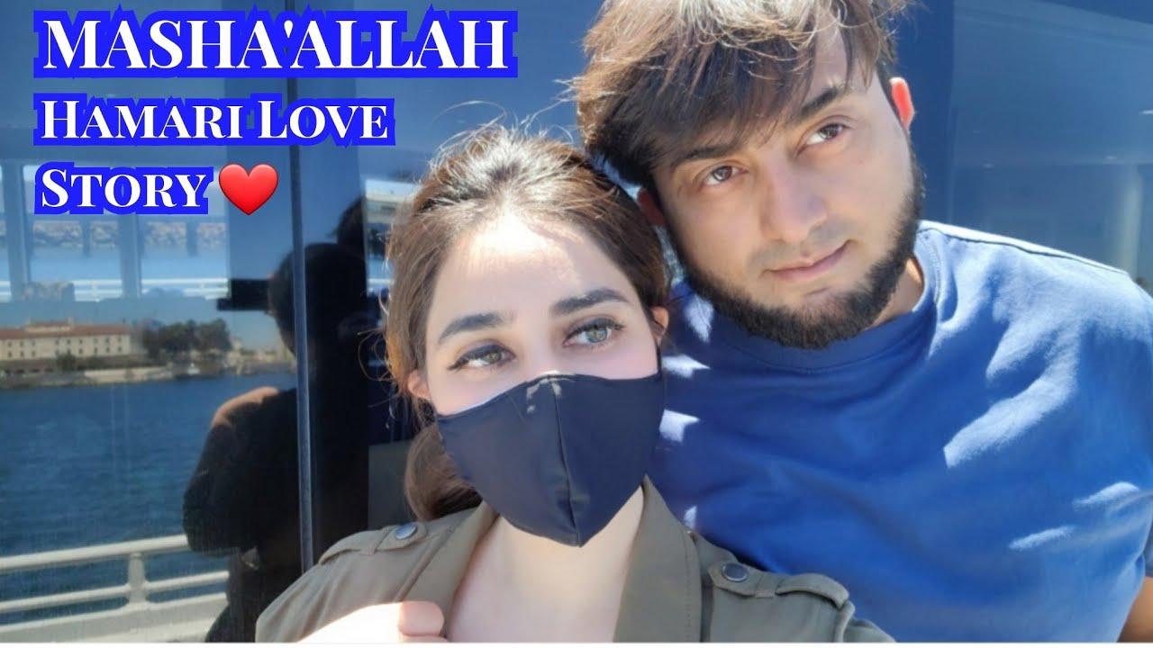 Hamari Love Story Ki Shuruwat Aise hui thi 🇺🇸 Yeh Bat Kabhi Apko Nahi batai😊