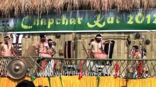 Assamese Bihu dance performed in Mizoram
