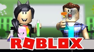 AULA EXPLOSIVA! 💥 - Roblox (Little Angels Daycare)