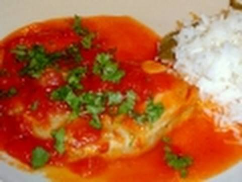 Fresh tuna in tomato recipe how to cook fish youtube for Fresh tuna fish recipes