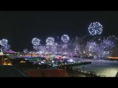 Happy New Year 2018 Montreal