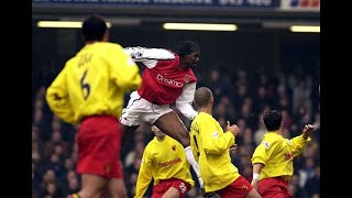 Watford 2-4 Arsenal 2001/02 FA Cup 3rd Round FULL MATCH