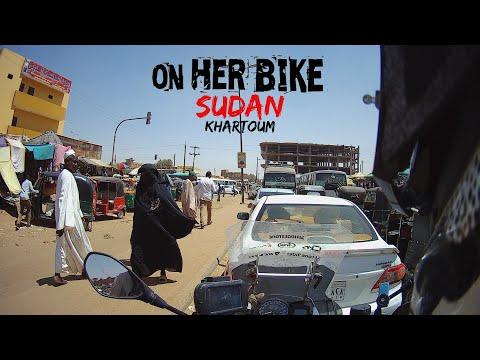 On Her Bike in Khartoum. Sudan. EP 53