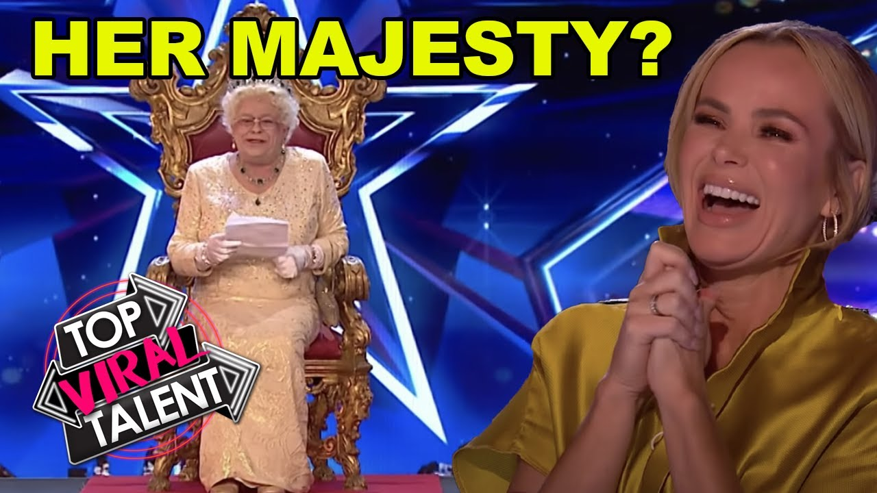 QUEEN AUDITIONS ON BRITAIN'S GOT TALENT & SURPRISES EVERYONE