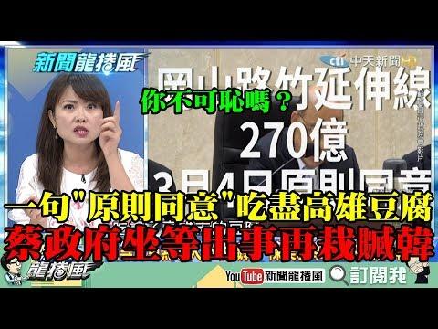 【精彩】一句「原則性同意」吃盡高雄豆腐! 陳美雅:蔡政府坐等出事了再栽贓韓!
