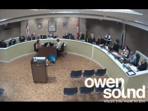 City of Owen Sound April 14, 2014 Council Meeting