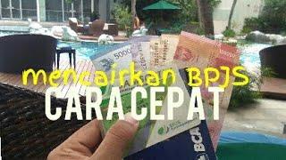 BPJS KetenagaKerjaan/JHT Jamsostek Cara Cepat Cair (Vlog)