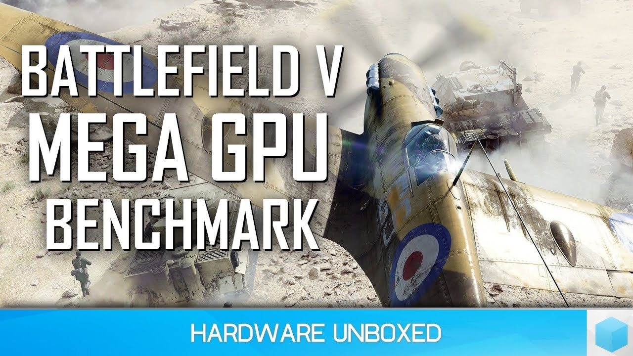 Battlefield V GPU Benchmark, 1080p, 1440p & 4K Results - YouTube