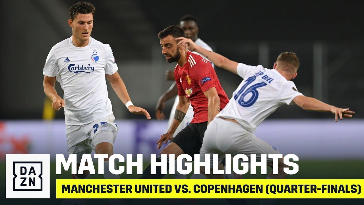 HIGHTLIGHTS | Manchester United vs. FC Copenhagen (Quarter-finals)