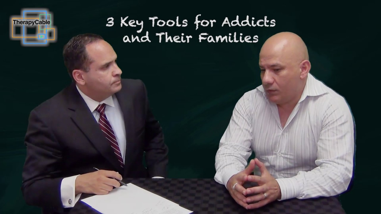 3 Key Tools for Addicts and Their Families