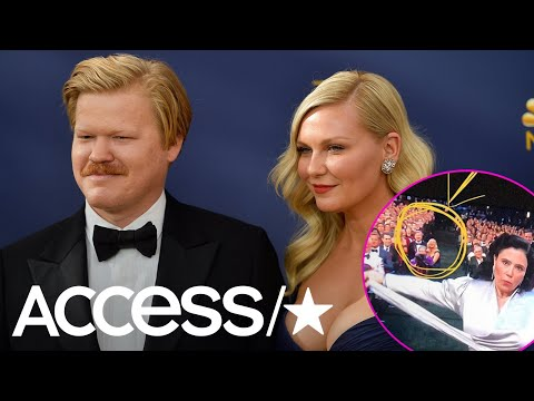 Kirsten Dunst & Jesse Plemons Accidentally Photobombed Alex Borstein's Emmy Win  Access
